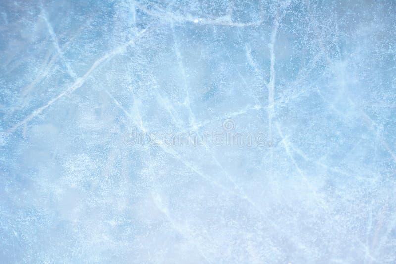 Eisblau stockfotografie