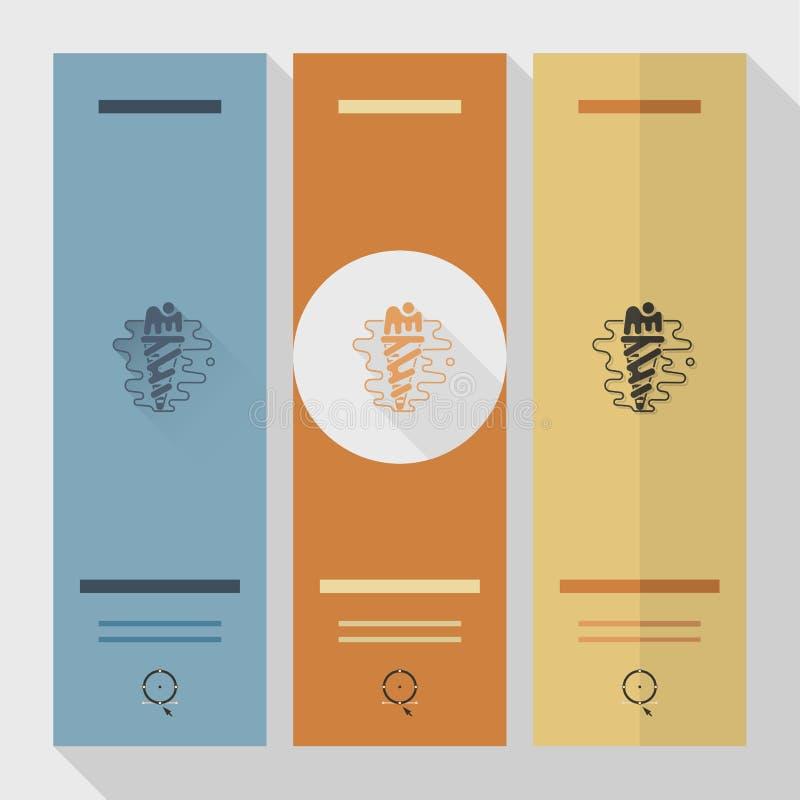 Eiscreme in einem Kegel mit einer Kirsche lizenzfreie abbildung