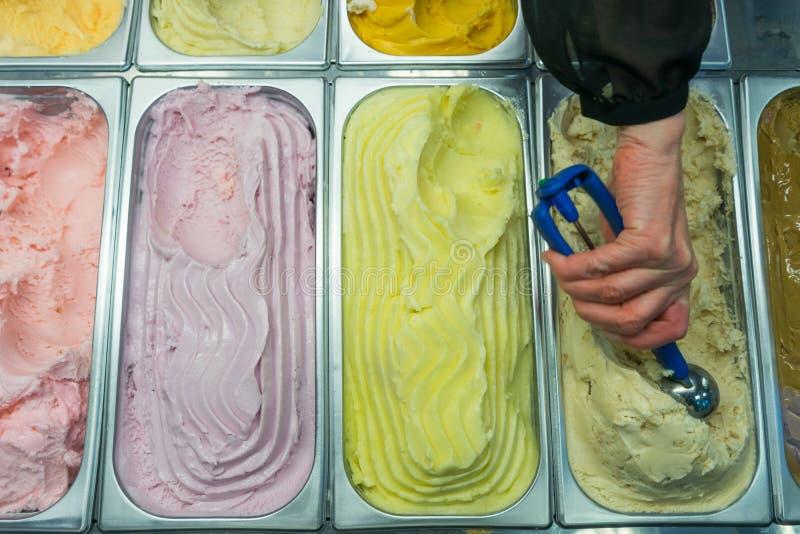 Eiscremeverkauf lizenzfreies stockbild