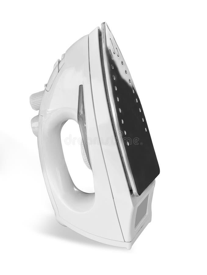 Eisen getrennt auf weißem Hintergrund stockbild