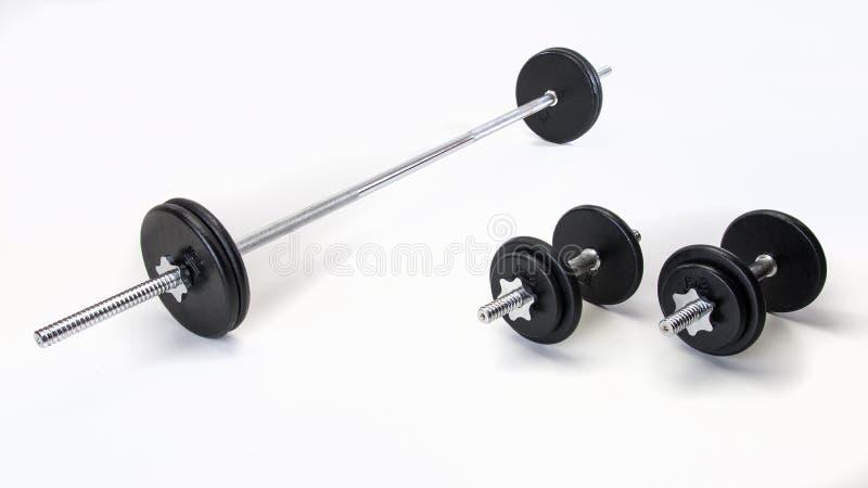 Eisen-Gewichts-Satz lizenzfreie stockfotografie