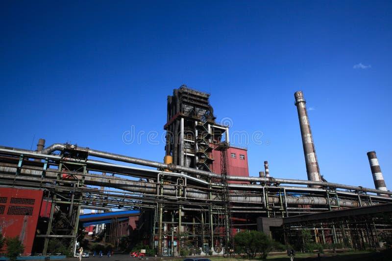 Eisen-und Stahlwerk stockbilder