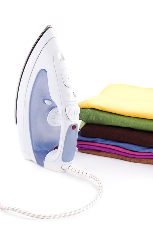 Eisen und Wäscherei stockfoto