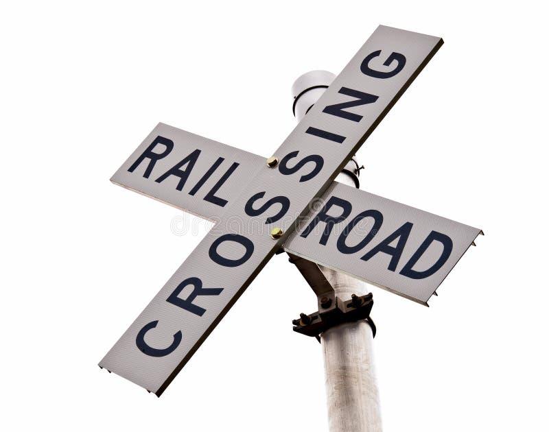 Eisenbahn-Überfahrt lizenzfreie stockfotografie