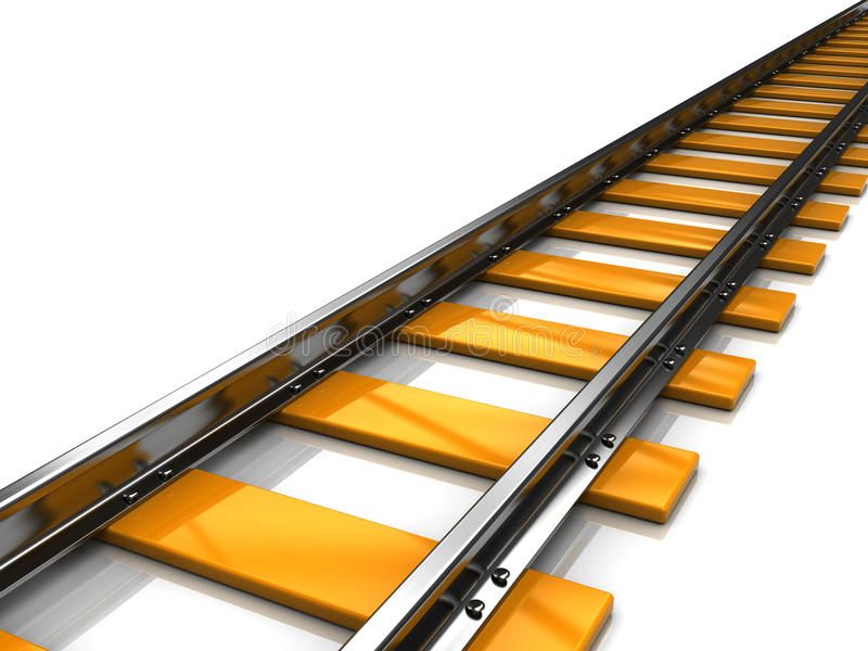 Eisenbahn lizenzfreie abbildung