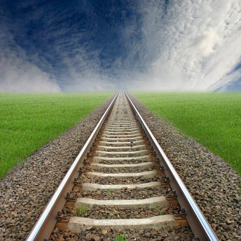 Eisenbahn lizenzfreies stockfoto