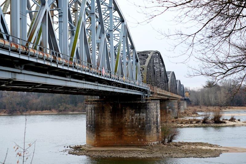 Eisenbahnbrücke, im Freien lizenzfreie stockfotografie