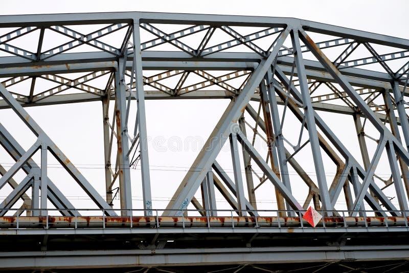 Eisenbahnbrücke im Freien stockbilder