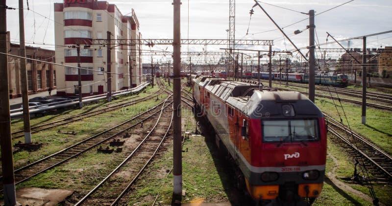 eisenbahnen stockfotos