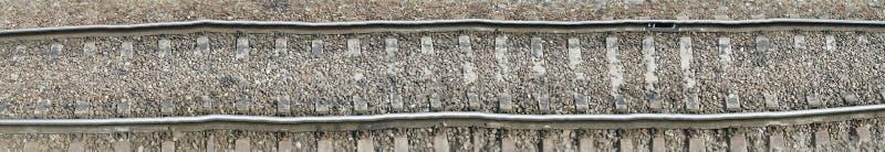 Eisenbahnlinie, Abdeckungsillustration vektor abbildung