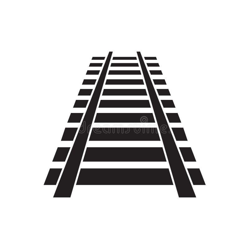 Eisenbahnlinieikone lizenzfreie abbildung