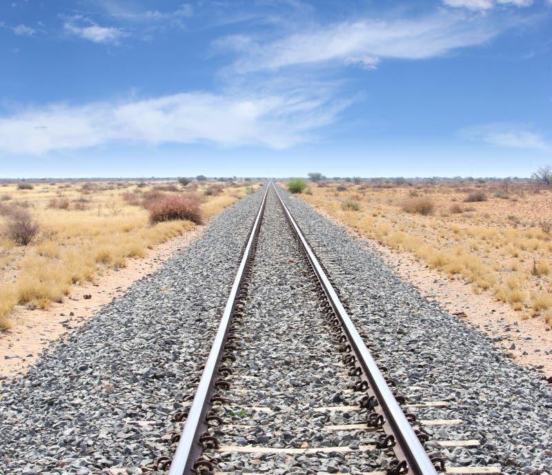 Eisenbahnlinien Windhoek Keetmanshoop, Namibia stockbilder