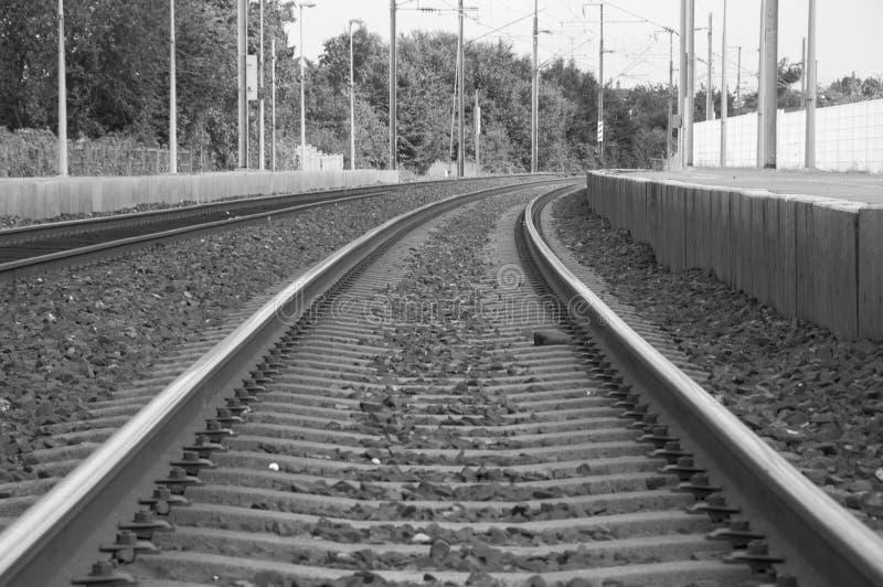 Eisenbahnspurdetail stockfotografie