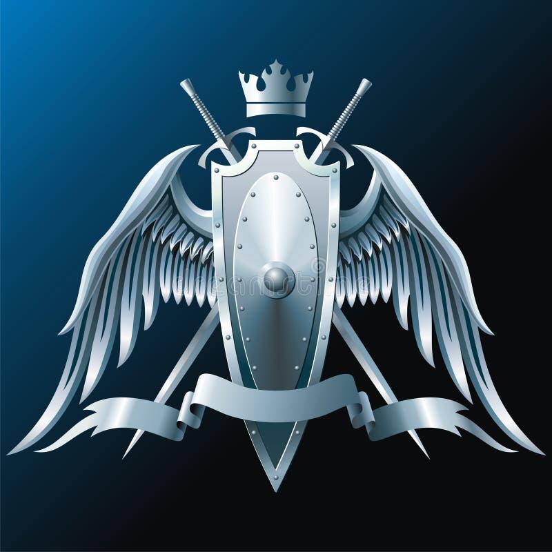Eisenflügel stock abbildung