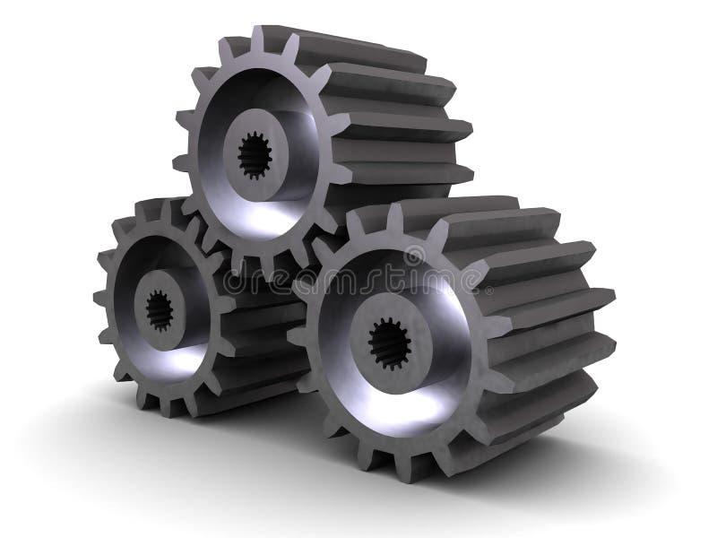 Eisengangräder vektor abbildung