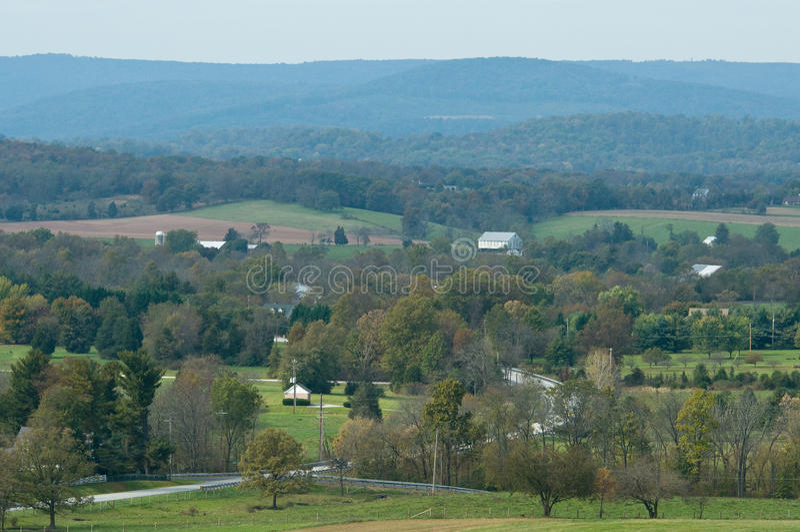 Eisenhower-Bauernhof lizenzfreie stockbilder