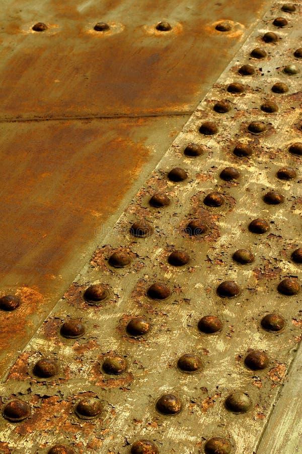 Eisenniete lizenzfreies stockbild