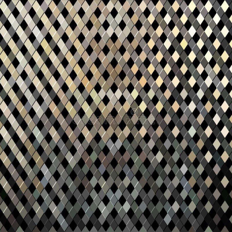 Eisenstangen Grungebeschaffenheit Alter Stahlgitterhintergrund Rostmetallabstraktes Muster stock abbildung