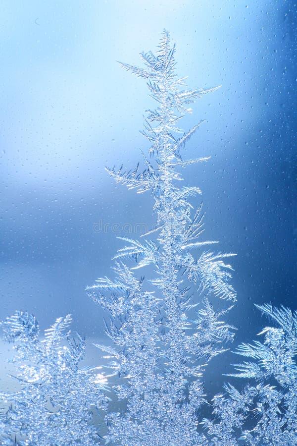 Download Eisfrostfenster stockbild. Bild von kristall, nahaufnahme - 27726219