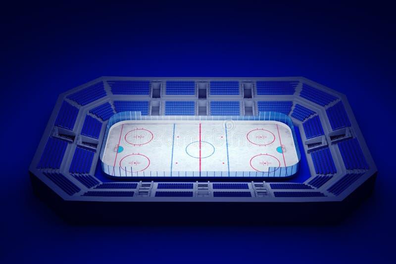 Eishockeyarena lizenzfreie abbildung