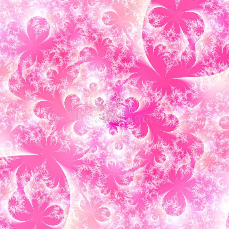 Eisige rosafarbene abstrakte Hintergrundauslegungschablone vektor abbildung