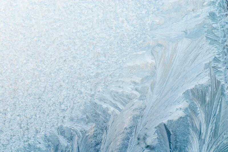 Eisiger Hintergrund lizenzfreie stockfotos