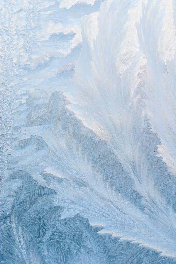 Eisiger Hintergrund stockbild