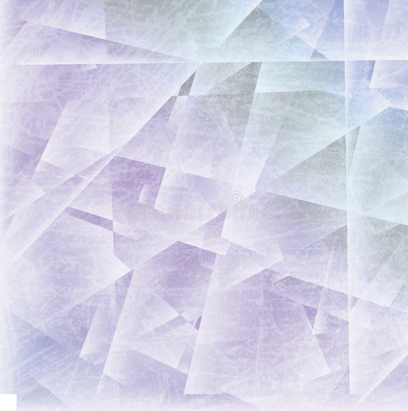 Eisiger Hintergrund des Winters lizenzfreies stockbild