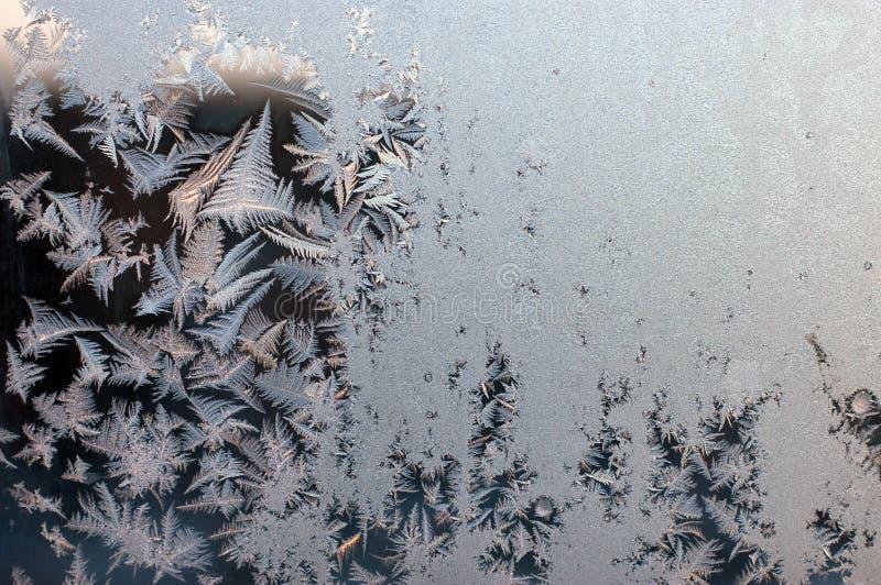 Eisiges natürliches Muster lizenzfreie stockfotos
