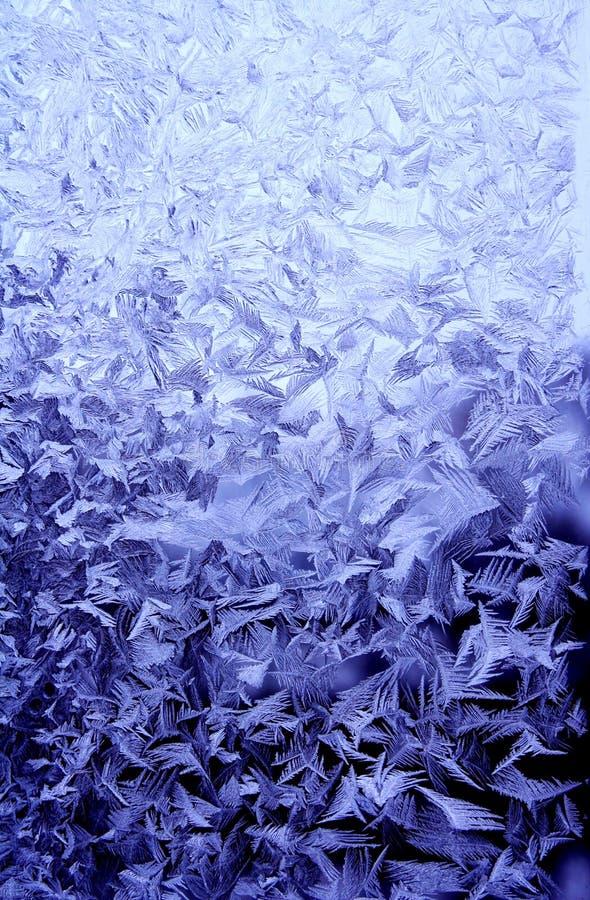 Eisiges natürliches Muster lizenzfreies stockfoto