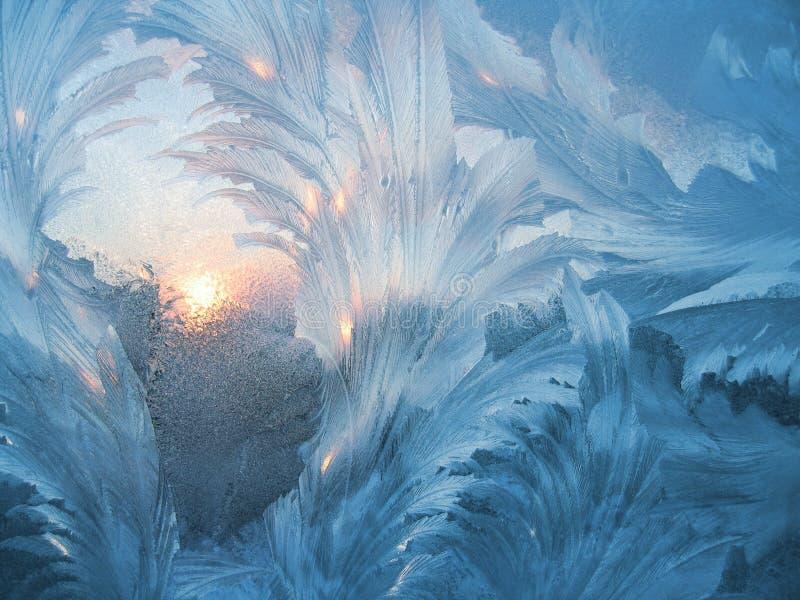 Eisiges natürliches Muster #3 lizenzfreies stockbild