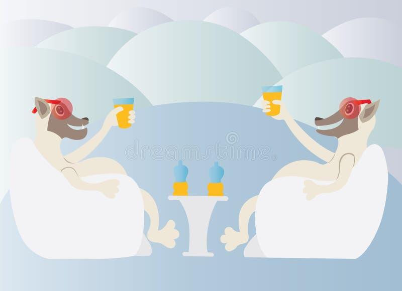 Eiskaltes Getränk lizenzfreie abbildung