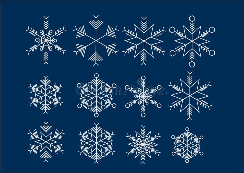 Eiskristall水晶雪背景 免版税图库摄影