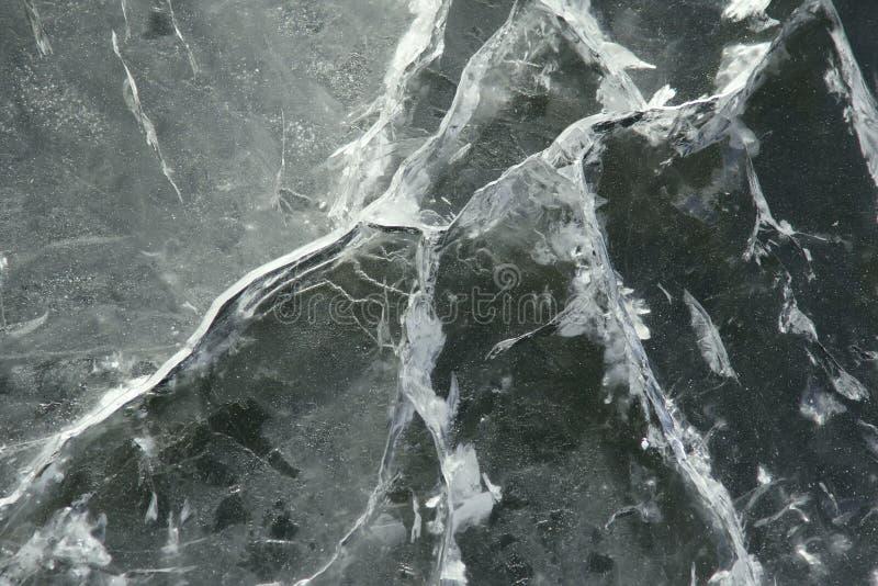 Eisoberfläche stockbild