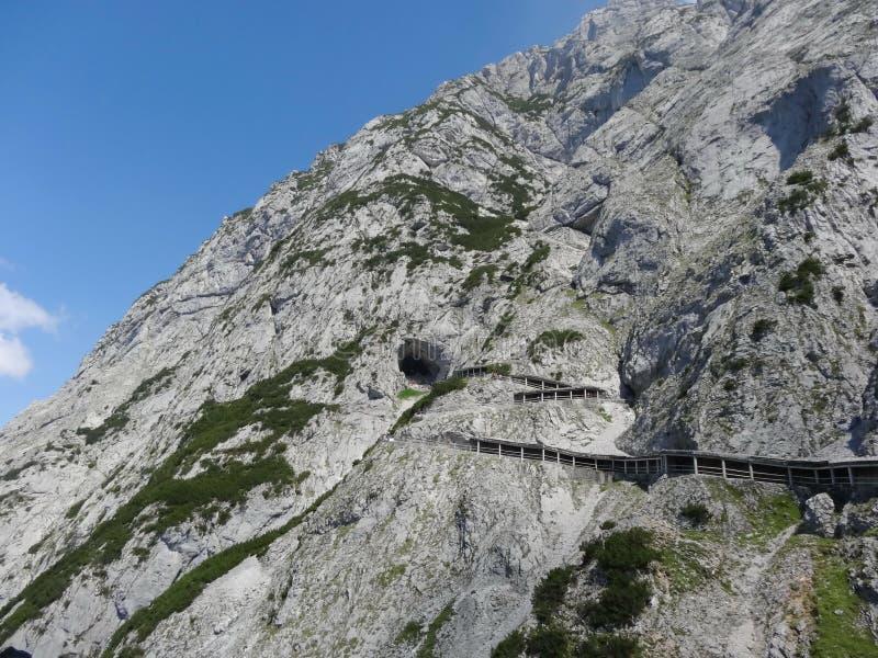 Eisriesenwelt, Áustria fotos de stock royalty free