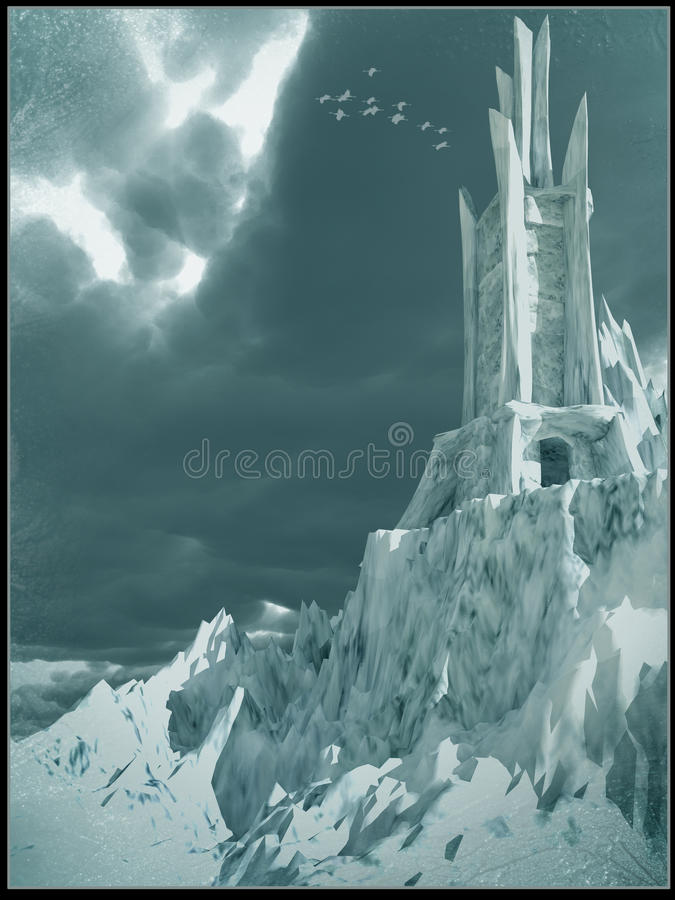 Eisturm stock abbildung