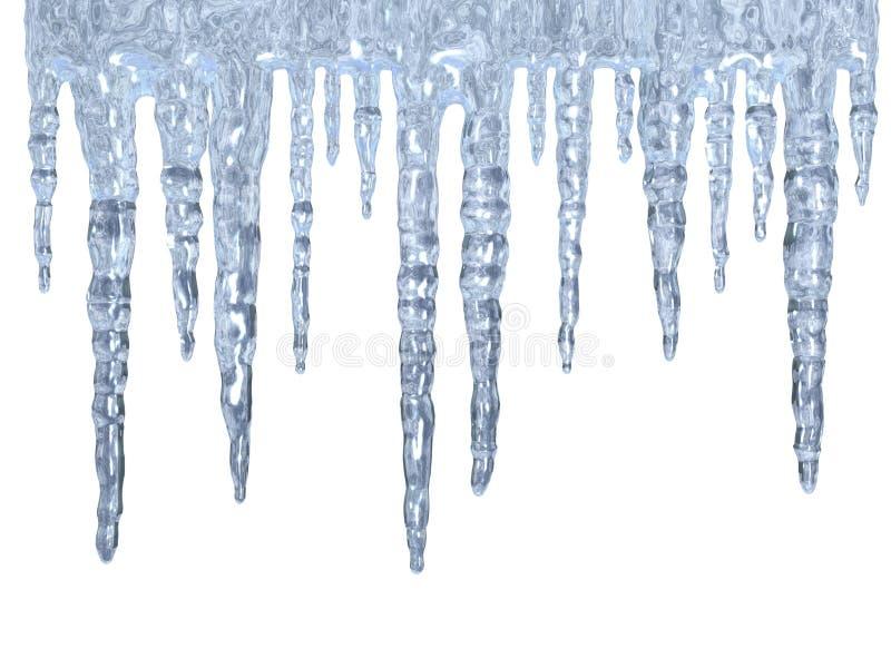 Eiszapfen lizenzfreie abbildung