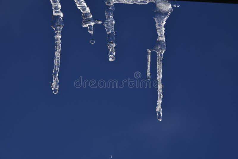 Eiszapfen Sculprure von Natur aus lizenzfreie stockfotografie