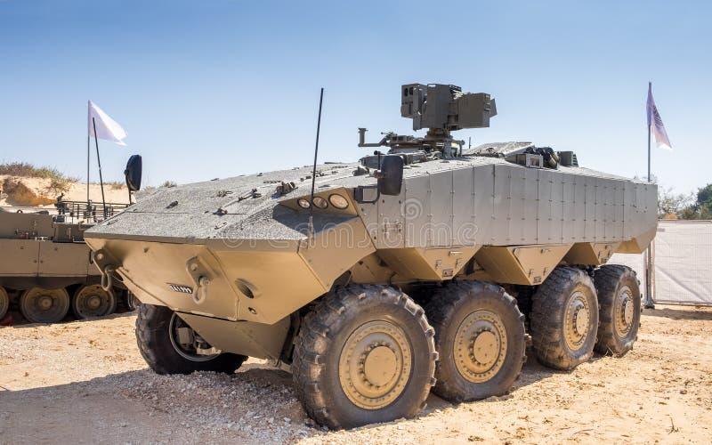 Eitan è un veicolo da combattimento corazzato moderno fotografia stock libera da diritti