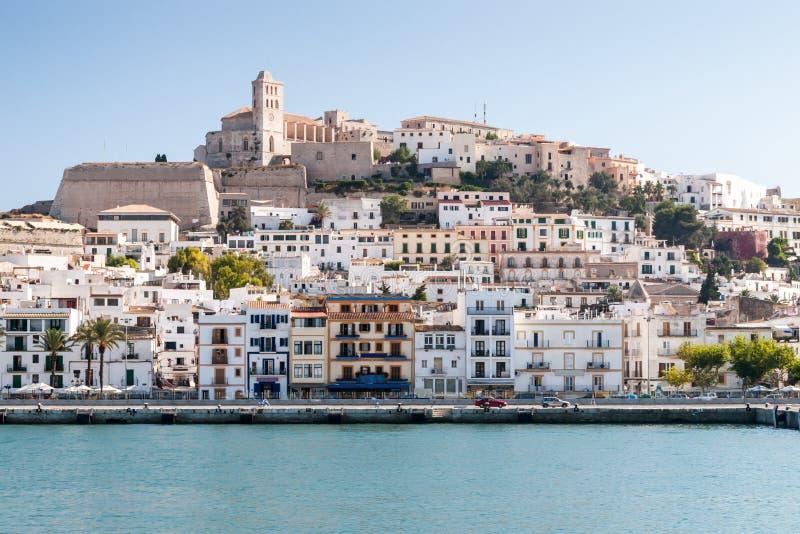 Eivissa -伊维萨岛,西班牙的首都 免版税库存图片