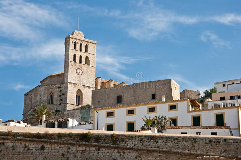Download Eivissa Church stock image. Image of white, europe, baleares - 24098363