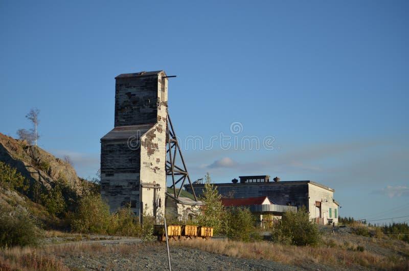 Eixo de mina gigante fotografia de stock royalty free