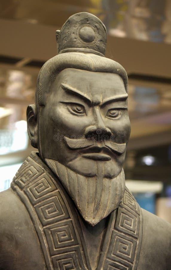 Ejército chino antiguo de la terracota imagen de archivo