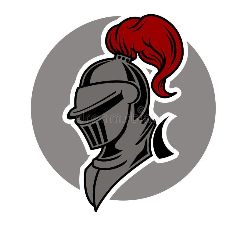 Ejército del caballero stock de ilustración