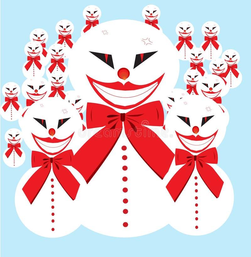 Ejército del muñeco de nieve foto de archivo libre de regalías