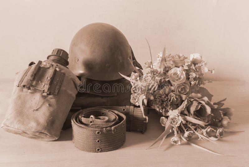 Ejército del vintage fotografía de archivo