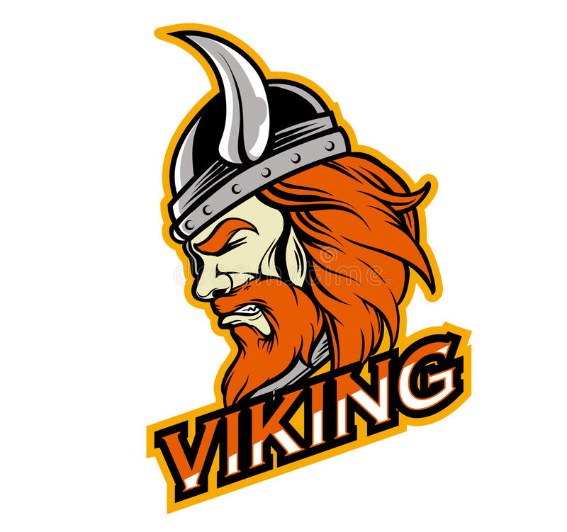 Ejército fuerte de vikingo libre illustration