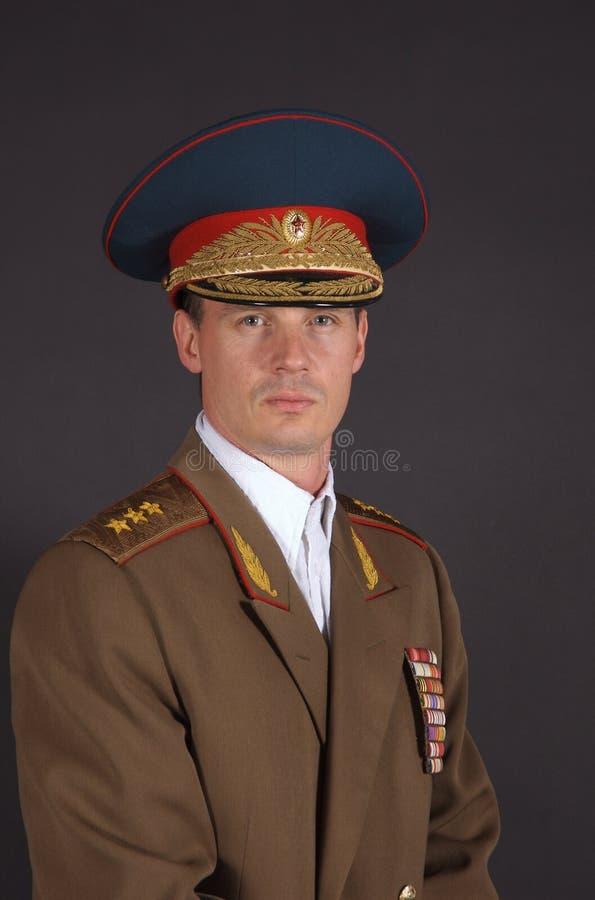Ejército Potrait foto de archivo