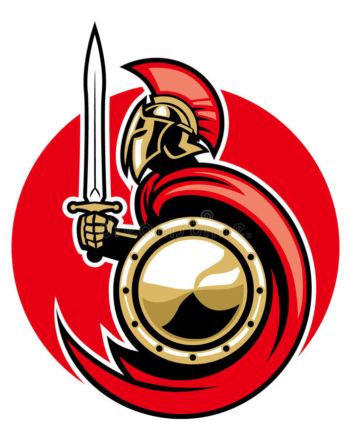 Ejército romano ilustración del vector