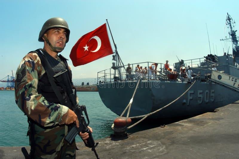 Ejército turco foto de archivo